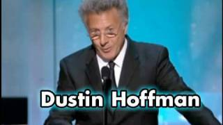 Dustin Hoffman Salutes Warren Beatty at AFI Life Achievement Award