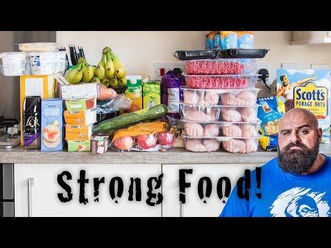 Big Loz Food shop, Strongman 6000 calorie diet