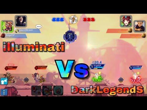 GunboundM Illuminati Vs DarkLegendS (Aduka Vs Boomer)