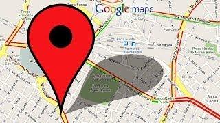 Como saber as coordenadas de algum ponto com Google Maps Free HD Video