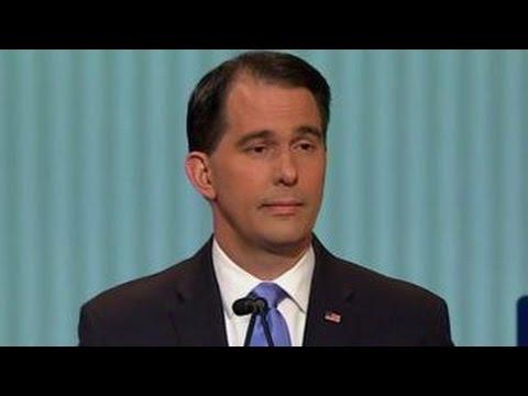 Gov. Scott Walker defends his economic record | Fox News Republican Debate
