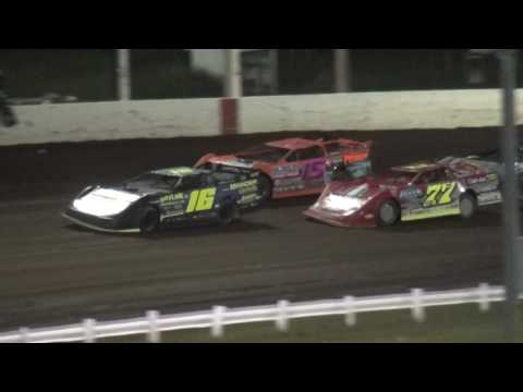 Tri Track 1st IMCA Late Model feature Farley Speedway 7/14/17