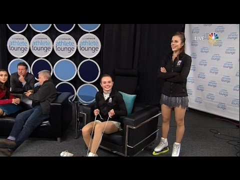 2016 Skate America - Ladies Full Broadcast NBC