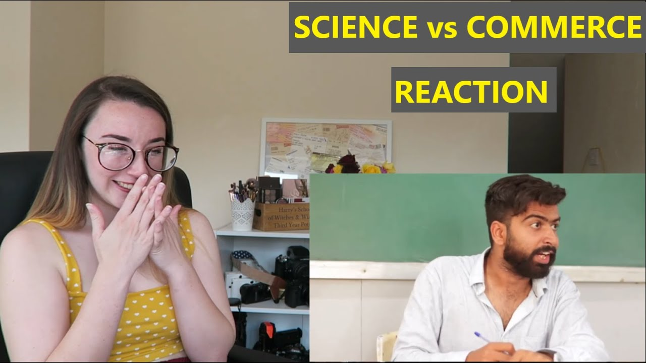 Science vs Commerce | Reaction Video | Ashish Chanchlani