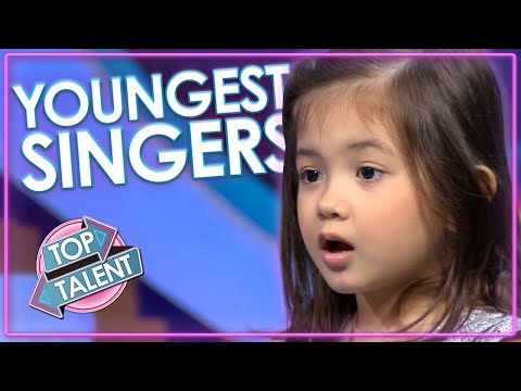 Are These The YOUNGEST Singing Auditions Ever On Got Talent And Idol? | Top Talent