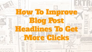 Best Blog Post Title Tips For Better SEO And Website Traffic