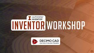 [WORKSHOP INVENTOR] - TEKNIK MESIN ITK WITH DECIMO CAD