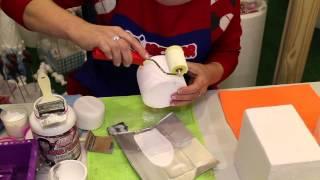 Aprenda a fazer um bolo falso imitando Pasta Americana. Só Isopor - www.mariareceita.com.br