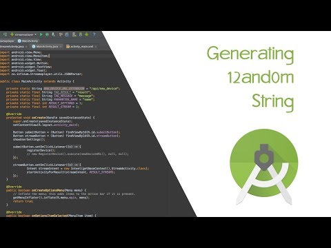 Generate Random String in Android Studio