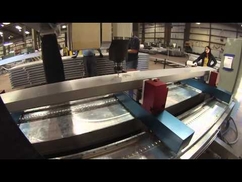 Curtain Wall CNC Fabrication Equipment - CNT Motion Systems