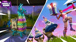 Irrecoverable Weapon, Birthday Lamas - Exclusive Hero! Fortnite Save the World