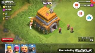 como não se faz um ataque no clash of clans
