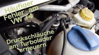 VW Bus Bulli T4 2.5 TDI Turbolader Turbo Druckschlauch ACV AUF AYC