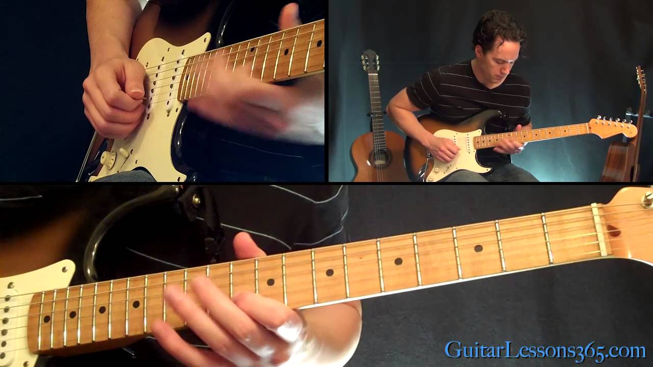 Parisienne Walkways Guitar Solo Lesson Gary Moore Famous Solos