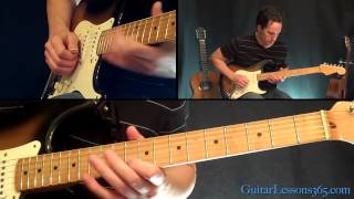 Parisienne Walkways Guitar Solo Lesson - Gary Moore - Famous Solos