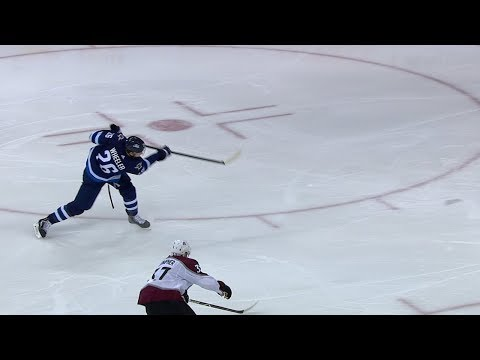 Blake Wheeler nets give-and-go from Mark Scheifele for SHG