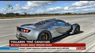 The World's Fastest Automobile : Venom GT  (⏩ 435.31 km/h)