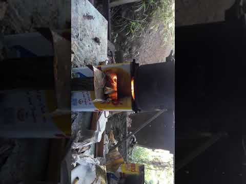 My DIY Wood Stove