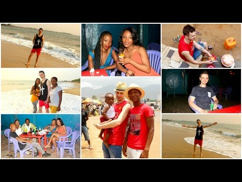 Travel Vlog - Sierra Leone 2017 Vlog, Lumley Beach, Freetown