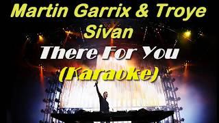 Martin Garrix & Troye Sivan - There For You (Karaoke Instrumental)
