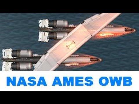 KSP Nasa AMES quotOWBquot oblique wing concept plane B9