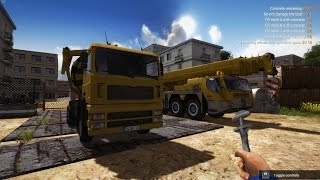 Lets play Construction Machines Simulator 2016, Ep 8, Watch your Jib!