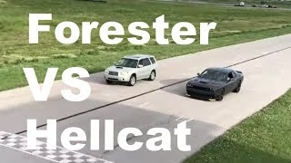 400HP Forester XT Roll Racing