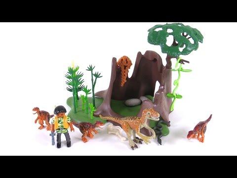 Playmobil Dinos Deinonychus & Velociraptors reviewed! set 5233