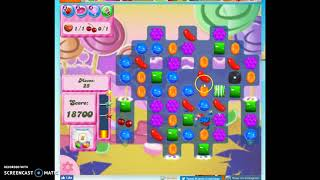 Candy Crush Level 95 Audio Talkthrough, 3 Stars 0 Boosters