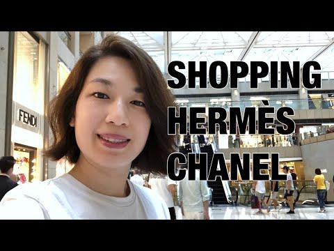 HONG KONG VLOG 189 | SHOPPING AT HERMÈS & CHANEL • CHANEL ALTERATIONS • HAIRCUT