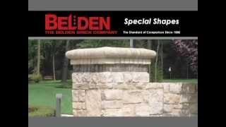 Belden Brick - Special Brick Shapes