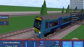 Playing (GCR) Grand Continental Railways on roblox 17/1/18