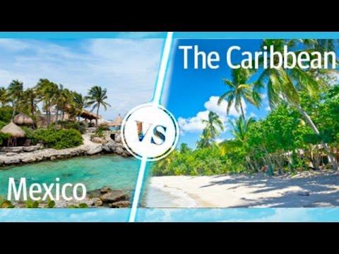 Mexico Riviera vs. Mexican Caribbean