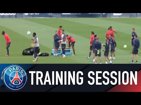 Paris Saint-Germain training session PARIS SAINT-GERMAIN vs OGC NICE