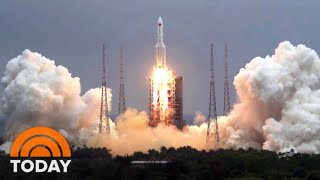 Download Chinese Rocket Debris Expected To Hit This Weekend – But No One Is Sure Where | TODAY
