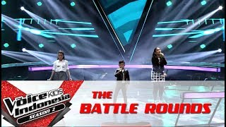 Dita Gilbert Shakira Wrecking Ball Battle Rounds The Voice Kids Indonesia S2 GTV 2017