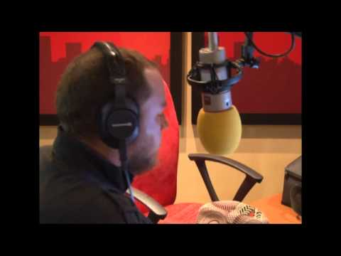 Ard Matthews visits Kfm Breakfast