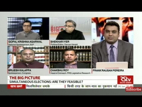 The Big Picture: Is holding simultaneous elections a good idea?
