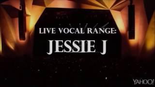 Jessie J | Live Vocal Range (C#3 - Eb7)
