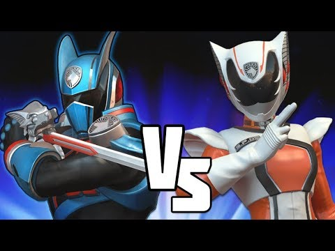 Kat Manx VS Shadow Ranger Power Rangers Battle For The Grid Versus