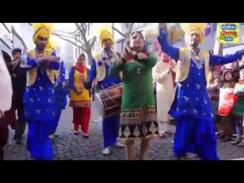Indien Karneval 2015 Frankfurt (Media Punjab TV)