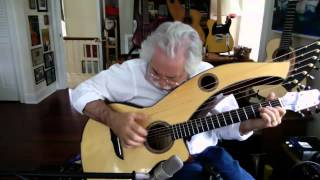 Rohan Theme - Stephen Bennett on harp guitar