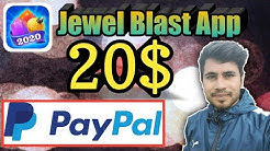 Jewel blast app full review || new PayPal cash earning app