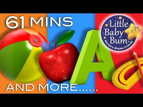 Thumbnail: Learning Songs | ABCs, Colors, 123s, Growing-up And More! | Preschool Songs | From LittleBabyBum!
