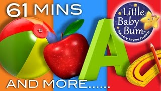 Learning Songs | Abcs, Colors, 123s, Growing Up And More! | Preschool Songs | From Littlebabybum!