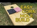 Cornhole build that will blow your mind! DIY corn hole board.