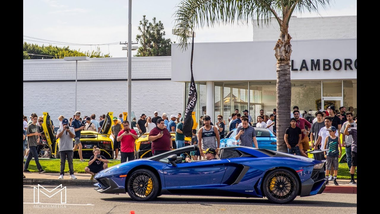 September Supercar Saturday Lamborghini Newport Beach, CA