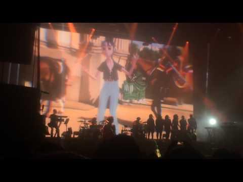 "GORILLAZ - ""Sleeping Powder"" LIVE DEBUT at the O2 Academy Brixton, London"