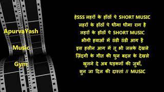 Ye Raat Ye Chandni Phir Kahan Karaoke Lyrics Scale Lowered