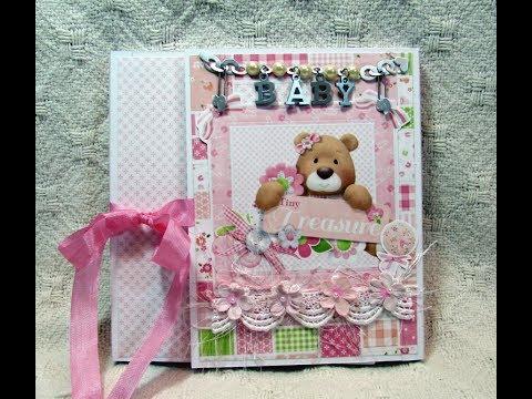 Custom Baby Girl Photo Folio